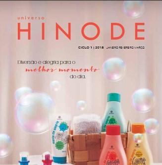 Novo Catálogo Hinode Ciclo 1/2018! Hinode