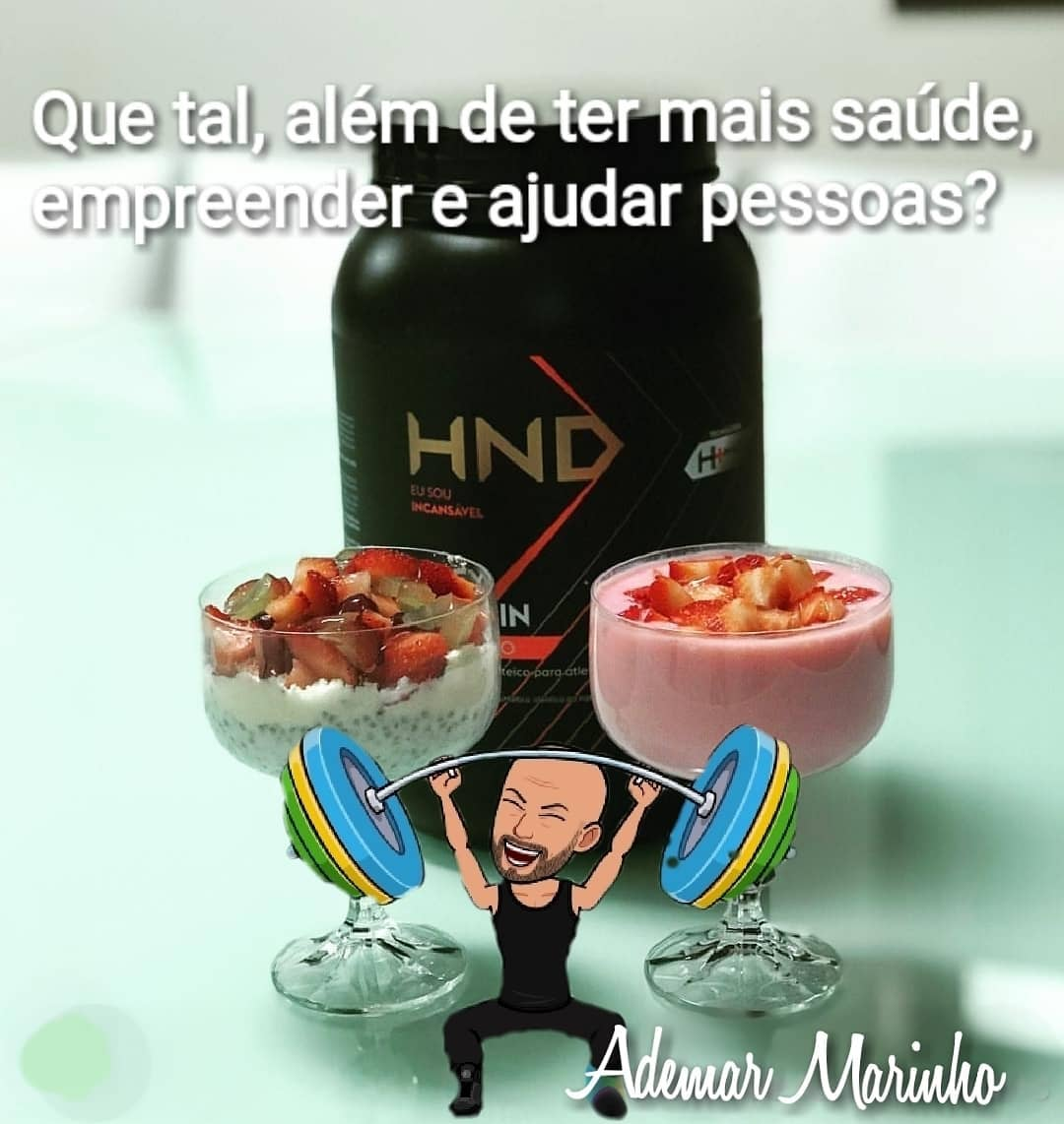 Crie Musculos com o HND Whey Protein Hinode Hinode
