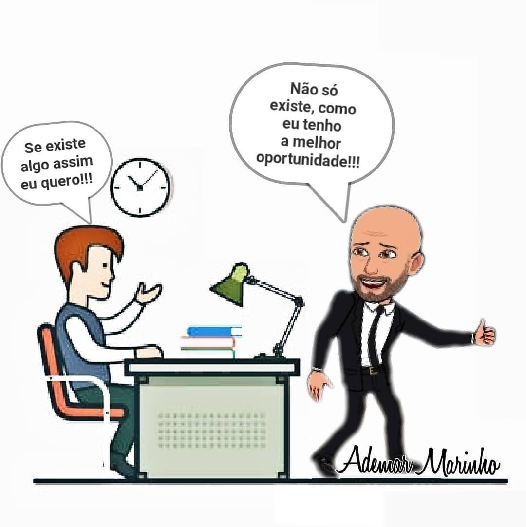 Em uma entrevista para emprego, o dono da empresa me pergunt... Empreendedorismo