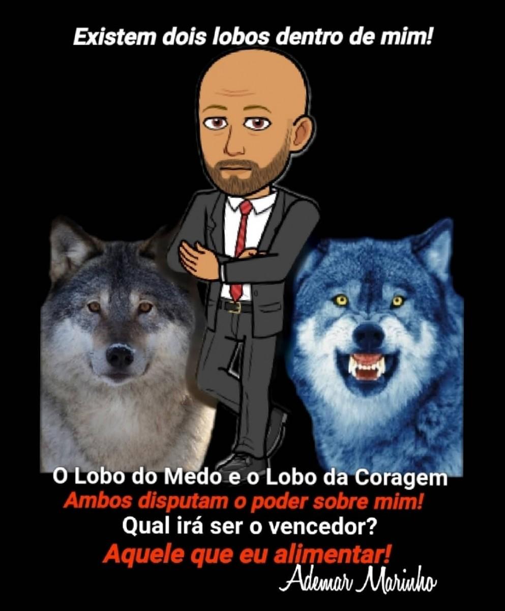 Lobo do medo ou lobo da coragem - empreendedorismo Ademar Marinho